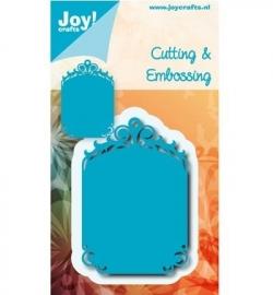 Joy! cutting & embossing Tag blauwe mal 6002/0539