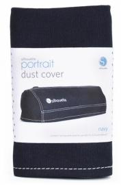 Silhouette Portrait Dust Cover Dark blue