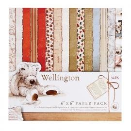 Wellington 15 x 15 cm paper pack