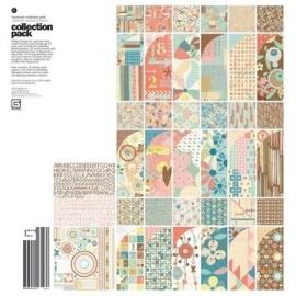 Basic grey Hopscotch collection pack 30.5 x 30.5 cm