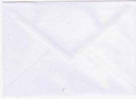 50 A6 enveloppen wit