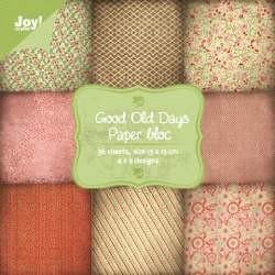 Joy! Paper bloc Good Old Days 6011/0067