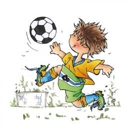Snoesje - Goal! Clearstyamp HM9471