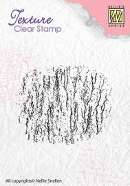 NS Texture Clear Stamps Bark TXCS002