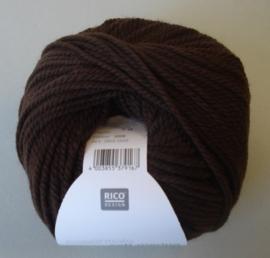 Soft Merino aran Kleur 59 Donker bruin