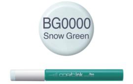 Copic Ink refill Snow Green BG0000