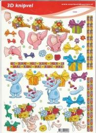 Voorbeeldkaarten 2425