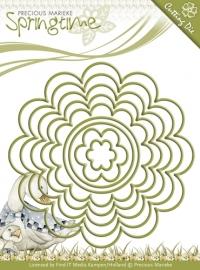 Die - Precious Marieke - Springtime - Flowery Nesting Frames