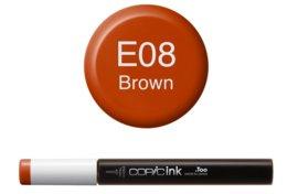 Copic Ink refill Brown E08