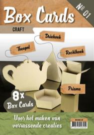 Box Cards nr 1 Kraft