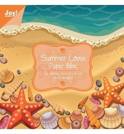 Joy Papier blok Summer 6011/0022