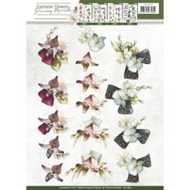 3D Knipvel - Precious Marieke - Fantastic Flowers - Orchid CD10854