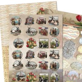 Amy Design - 3D-knipvel A4 - Oud-Hollands - Mini`s & Labels - ADMIN10003