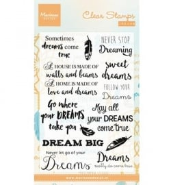 MD Clearstamp Dreams CS0975