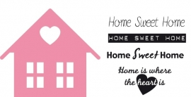 Collectables Home sweet home - COL1333