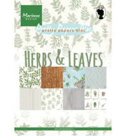 MD A5 Pretty Papers PK9152 - Herbs & leaves