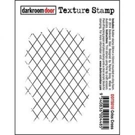 Texture Stamp - Criss Cross DDTS010