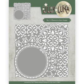 Die - Lilly Luna - Flowers to love frame LL10001