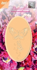 Joy! Cutting & Embossing stencil vlinders 6002/0275