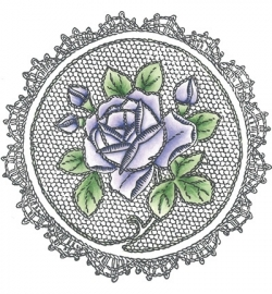 MD Cling Stamp Roses TC0830