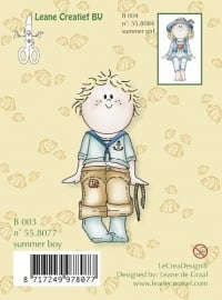 Clear Stamp Bambini Summer Boy