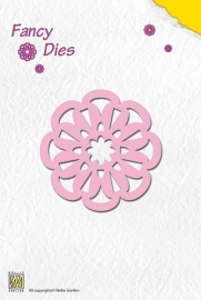 Fancy Die Flower FD007