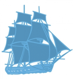 LR Creatable Tiny's tall ship LR0416