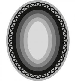 Craftables - Basic-oval CR1333