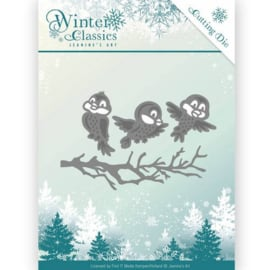 Jeanine's Art - Winter Classics - Winter birds JAD10027