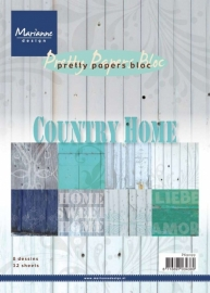 MD Paper pad Country Home - PK9099