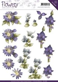 3D Knipvel - Precious Marieke - Flowery - Mixed flowers CD10669