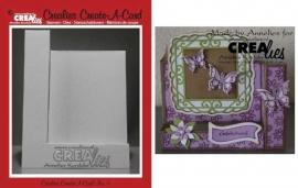 Crealies Create A Card no. 5 stans voor kaart CCAC05 / 10,5 cm x 29,8 cm