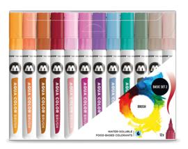 Molotow Aqua color brush set 2