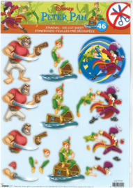 Disney Peter Pan Puch-out 46