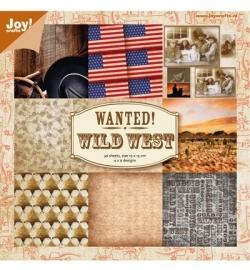 Joy! Paper bloc, 15x15cm - Western 6011/0053