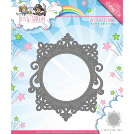 Die - Yvonne Creations - Tots and Toddlers - Rectangle Frame  YCD10090