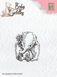 NS Clear Stamps - Baby Cuddles - Cuddly friends CSBC003
