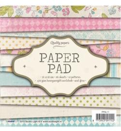 SL Paper Pad - Paper Pad Blok nr.11 15 x 15 cm