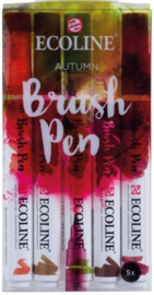 Ecoline Brush pen set Autumn