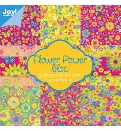Joy Flower power bloc 6011/0016