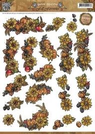 3D Knipvel - Yvonne Creations - Fall Favourites - Seasonal Fruit CD10558