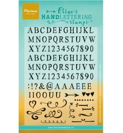 MD Clearstamp Handlettering - Light EC0958