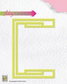 Sliding card Dies basic slider-part SCD003
