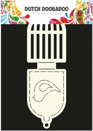 Dutch Doobadoo Card Art vogelkooi 2x 9x13,5cm