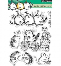 Penny Black Clearstamp Party friends 30337