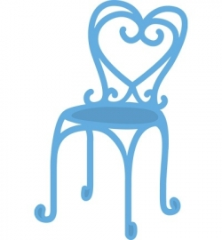 MD Creatables - French bistro chair LR0297