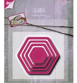 Joy! Snijmal Basic Mery hexagonal 6002/0488
