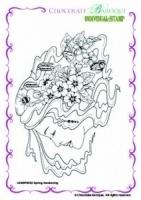 Spring Awakening Single Rubber stamp - A6 0522