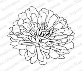 IO Stamps Evening Flower G16163