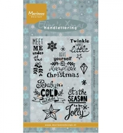 MD Eline's Handlettering Christmas UK